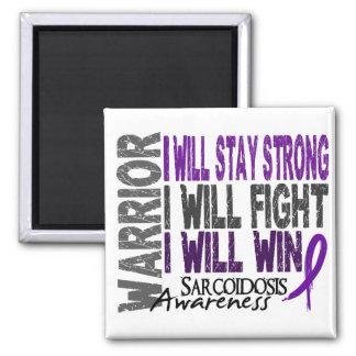 Sarcoidosis Warrior Magnet