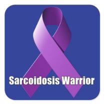Sarcoidosis Warrior Sticker