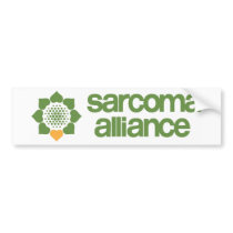 Sarcoma Alliance Bumper Sticker