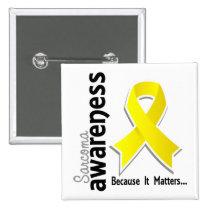 Sarcoma Awareness 5 Button