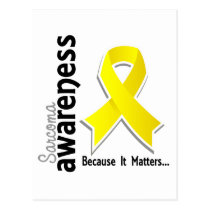 Sarcoma Awareness 5 Postcard