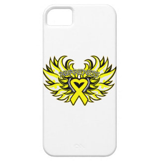 Sarcoma Awareness Heart Wings iPhone SE/5/5s Case