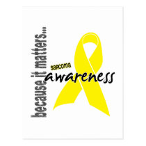 Sarcoma Awareness Postcard