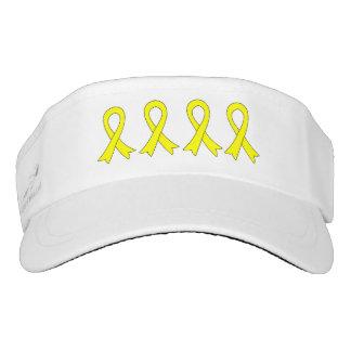Sarcoma Awareness Ribbons Headsweats Visor