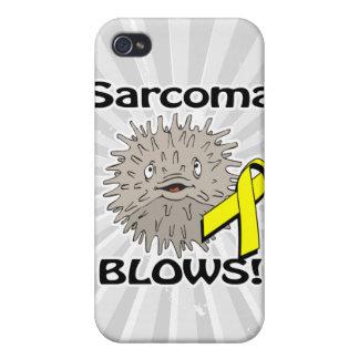 Sarcoma Blows Awareness Design Case For iPhone 4