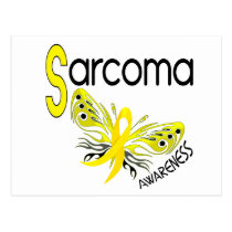 Sarcoma BUTTERFLY 3.1 Postcard