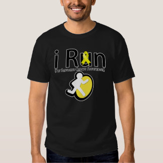 Sarcoma Cancer Awareness I Run T-Shirt