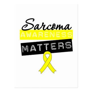 Sarcoma Cancer Awareness Matters Post Cards