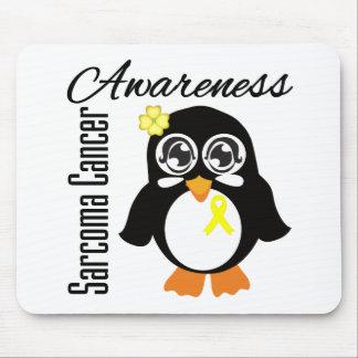 Sarcoma Cancer Awareness Penguin Mousepads