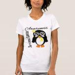 Sarcoma Cancer Awareness Penguin T Shirts