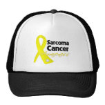 Sarcoma Cancer Awareness Ribbon Hat