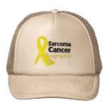 Sarcoma Cancer Awareness Ribbon Mesh Hat