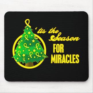 Sarcoma Cancer Christmas Miracles Mouse Pad