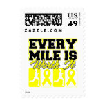Sarcoma Cancer Every Mile is Worth It Postage