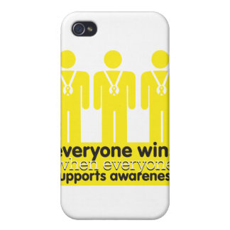 Sarcoma Cancer Everyone Wins With Awareness Cover For iPhone 4