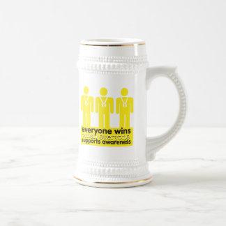 Sarcoma Cancer Everyone Wins With Awareness Coffee Mugs