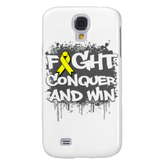 Sarcoma Cancer Fight Conquer and Win Samsung Galaxy S4 Covers