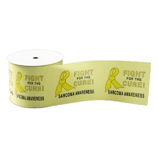 "Sarcoma Cancer Fight for the Cure 3"" Grosgrain Ribbon"