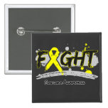 Sarcoma Cancer FIGHT Supporting My Cause Pins