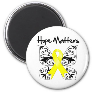 Sarcoma Cancer Hope Matters 2 Inch Round Magnet