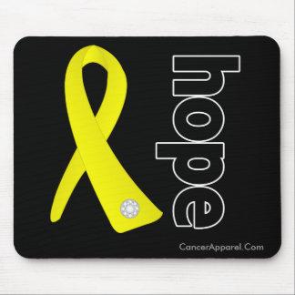 Sarcoma Cancer Hope Ribbon Mouse Pads