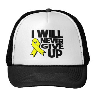 Sarcoma Cancer I Will Never Give Up Hats