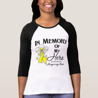 Sarcoma Cancer In Memory of My Hero Tee Shirt