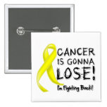 Sarcoma Cancer is Gonna Lose Pinback Buttons