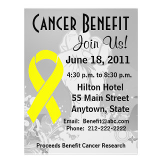 Sarcoma Cancer Personalized Benefit Flyer