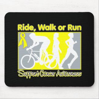 Sarcoma Cancer Ride Walk Run Mousepad