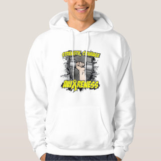 Sarcoma Cancer Strength Courage Men Hoodie