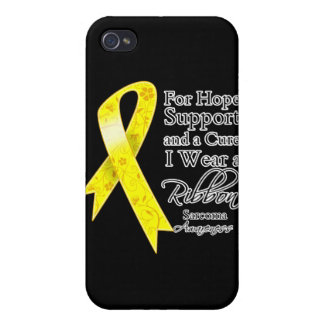 Sarcoma Cancer Support Hope Awareness iPhone 4/4S Case