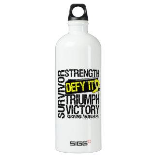Sarcoma Cancer Survivor Defy It SIGG Traveler 1.0L Water Bottle