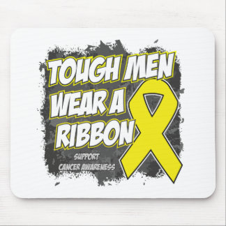 Sarcoma Cancer Tough Men Wear A Ribbon Mousepads