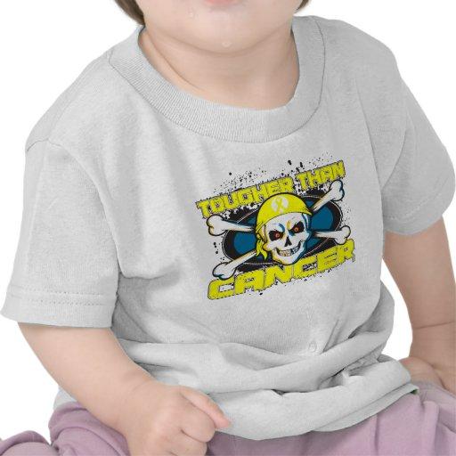 Sarcoma Cancer Tougher Than Cancer Skull Tshirts