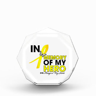 Sarcoma Cancer Tribute In Memory of My Hero Award