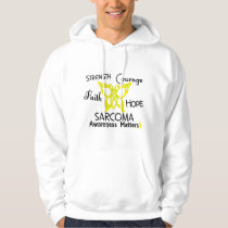 Sarcoma Celtic Butterfly 3 Hoodie