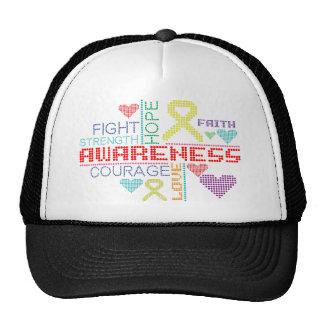 Sarcoma Colorful Slogans Trucker Hat