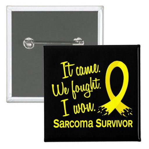 Sarcoma D del superviviente 11 Pin
