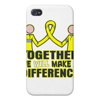 Sarcoma de Ewings juntos diferenciaremos iPhone 4 Funda