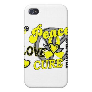 Sarcoma de la curación 2 del amor de la paz iPhone 4 coberturas