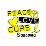Sarcoma de la curación del amor de la paz postal