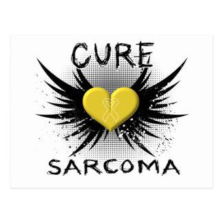 Sarcoma de la curación tarjetas postales