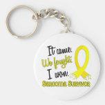 Sarcoma del superviviente 11 llaveros