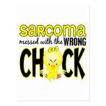 Sarcoma ensuciado con el polluelo incorrecto postales