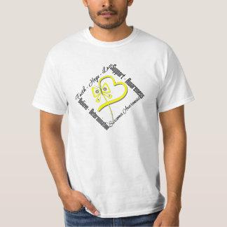 Sarcoma Faith Hope Love Butterfly Shirt