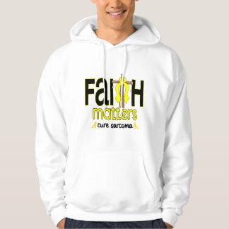 Sarcoma Faith Matters Cross 1 Pullover