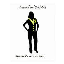 Sarcoma Female Professional Postcard