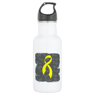 Sarcoma Fight Defy Win 18oz Water Bottle
