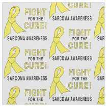 Sarcoma: Fight for the Cure! Fabric